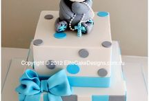 Baby shower and Christening cakes., / Cakes for little people