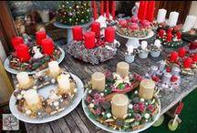 Christmas wreaths / #christmas #wreaths #christmaswreaths