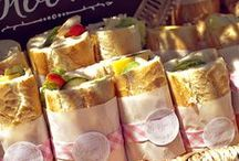 beach food and street food