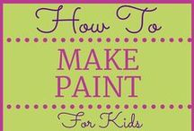Crafts for Kids / Creative crafts (and art projects) to keep the kids entertained.