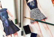 Fashion illustrations / ❤️❤️❤️