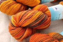 Yarns and Fibers / Highland Handmades has hundreds of colorways in dozens of bases.  Here are a few.