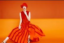 Orange / Fashion and style