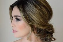 Makeup / Maquiagem e Penteado para Noivas #makeup #bridalmakeup #bride #casamento #weddng #noiva