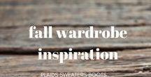 Fall Wardrobe Inspiration