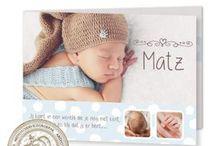 Geboortekaartjes met eigen foto. / Geboortekaartjes met eigen foto.