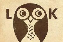 Pretty Owls / I really like cute owls. Then again... who doesn't?