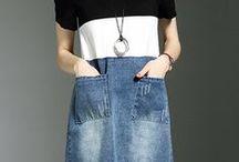 Fashion/Refashion tops and dresses