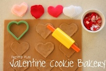 Valentine's Day Party Ideas / On February 4th, Monday, we are having 4 moms over, with their kids and we will be doing Valentine's Day crafts, eating fun snacks and sharing the love!!!