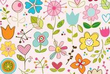 Patterns  / Fabric design and other patterns to swoon over