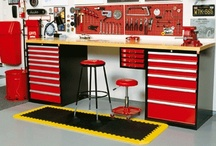 Garage! / Ways to keep the garage from becoming a dumping place and neat ideas to use there!