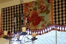Curtain Calls / Window treatment ideas.