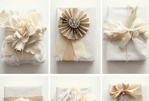 It's a Wrap / Gift ideas and Gift wrap ideas.  Sometimes one is the other. (-: