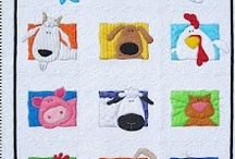 Quilts...Chickens and Barnyards / Quilts with a farm theme.