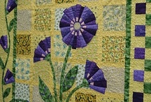 Quilts...Blooms, Greens and Browns / Quilts with themes of flowers, leaves, trees.  Well, it may branch out just a little.