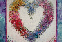 Quilts...Heart of the Matter / Quilts with the theme of Love and hearts.