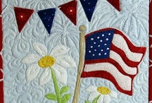 Quilts...All American / Quilts with American related themes... the states, patriotic, cultures.