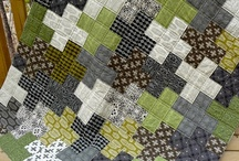 Quilts...Squared Off / Quilts with squares as the basic pattern.