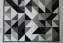 Quilts...All The Angles / Quilts with triangles or angled cuts as the basic patterns.