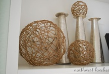 Craft Ideas...STRING me Along / Craft ideas with strings, twine, jute, yarns and so on...