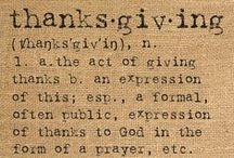Thanksgiving / by Christina Horne