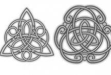 Celtic knotwork etc.