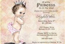 Baby Shower / Baby Shower ideas for a little girl / by Christina Horne