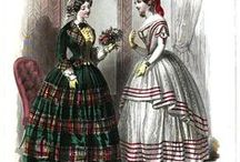 Historical clothing - Early Victorian / Clothing from the early Victorian period, 1850 - 1870