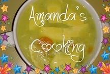 ╰☆╮ค๓คภ๔ค'ร ς๏๏кเภɠ.¸¸.•´¯`»☆ / Pic results of my cooking efforts. / by Amanda Wait