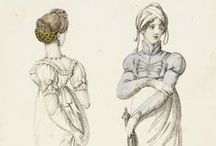 Historical clothing - Regency Fashion plates / Fashion plates, from +- 1789 to 1820