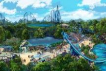 Mako coming to SeaWorld Orlando in 2016 / Surfacing summer 2016 at SeaWorld Orlando will be Mako, a 200-foot-tall hypercoaster that will reach 73 mph along 4,760 feet of steel track — nearly a mile long — and leave riders feeling both breathless and weightless.  Named for one of the ocean's fastest known sharks, Mako will be Orlando's tallest, fastest and longest roller coaster. Follow the Mako frenzy using the hashtag #NothingFaster. Visit  SeaWorldOrlando.com for more information and updates on the new ride. / by SeaWorld