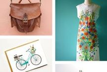 Weekly Shopping Guide - Friday Finds / A weekly collection from the Zibbet blog.Shop handmade vintage and art gifts on Zibbet.com a marketplace and community of artists crafters makers and collectors. Shop gifts here.