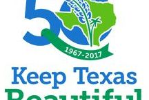 #50YearsofKTB / Join us in 2017 to celebrate Keep Texas Beautiful's 50th Anniversary.