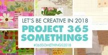 365 Somethings / We are doing 365 Creative Somethings in 2018 together, individually but as a group as well. We're celebrating creativity and the joy of making art this year. Why not join us?   How to join this board and what you can post can be found here: http://www.ihanna.nu/blog/2018/01/creative-365-project-resources/