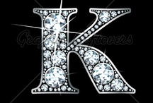 """K"" is for Kakie... / ""K"" is for Kakie because that is what my grandchildren and most of my family call me. If not that it is Kat, Kak and sometimes Kathy. / by Kathy Collier"