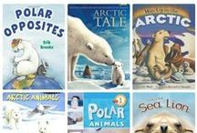 Applicious January Ideas / Great ideas for teaching about Snow, MLK, penguins, arctic animals, polar bears and so much more during the month of january!