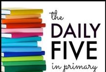 Applicious Daily 5 / Tips, ideas, and resources for implementing Daily Five in your classroom. Daily 5 resources, daily five activities
