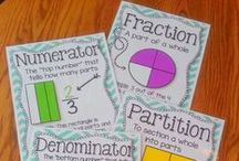 Applicious Fraction Ideas / Great ideas for teaching fractions in the elementary classroom. Fraction activities, freaction resources, and fraction ideas