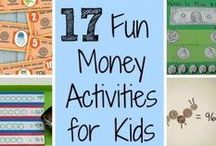 Applicious Teaching Money Ideas / activities, ideas, and resources for teaching students about money!