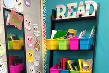 Applicious Reading Center Ideas / Ideas for reading or literacy centers in the elementary classroom