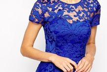 Royal blue bridesmaid dresses / Dresses