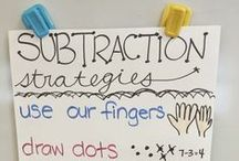 Applicious Subtraction Ideas and Resources / tips, ideas, and resources for teaching subtraction.