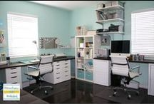 Home:Office. / Decor and design of my home office.