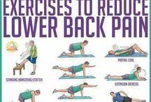 ouch! / lower back pain, hip pain, pain pain. ideas to relieve / treat.