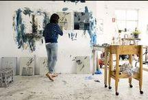 Work space & Art Studio