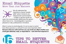 Etiquette / Not sure how to behave in a certain situation? We've got you covered.