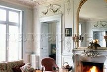 Louis XV - Rococo Fireplaces and Accessories / Featuring possible combinations of fireplace accessories of Louis XV - Rococo XV styles