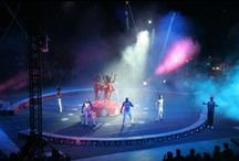 Circus / Don't be surprised if you see an elephant jumping through a ring of fire.