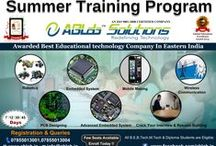 Training Programmes / ABLab Solutions is one of the best educational technology company in India.We have already trained more than 80,000 students across South-Asia on Robotics, Embedded Systems and automation.  / by ABLab Solutions