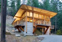 Small house / cabin / by James Galloway